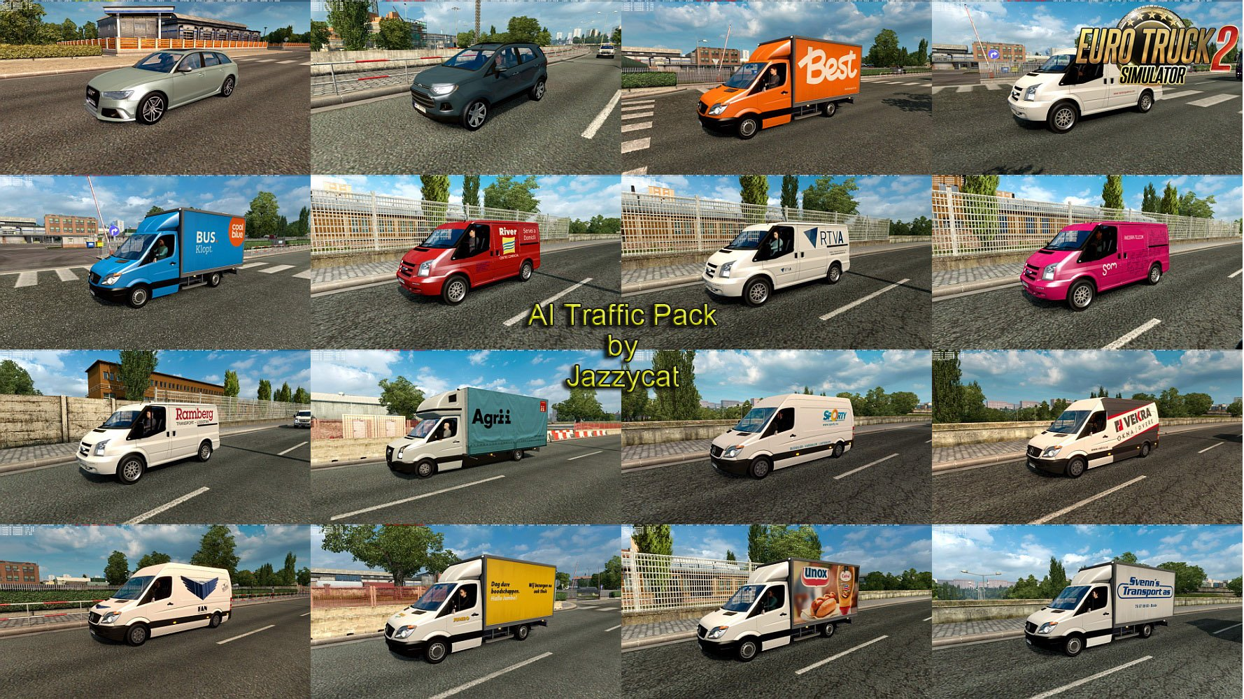 AI Traffic Pack v6.1 by Jazzycat