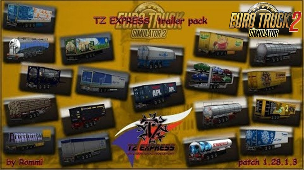 TZ Trailers Pack- Edit [1.28.x]