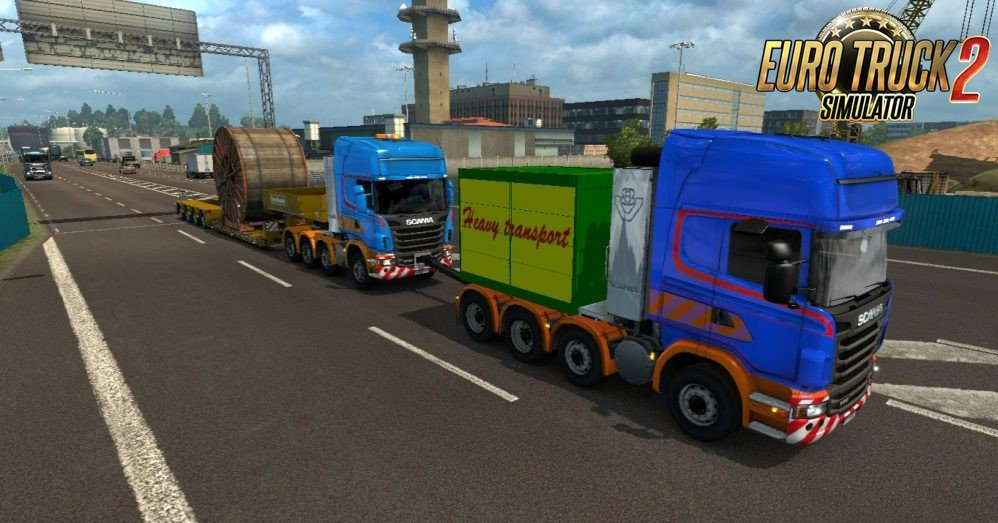 Scania R Heavy Haul Convoy Mod for Ets2