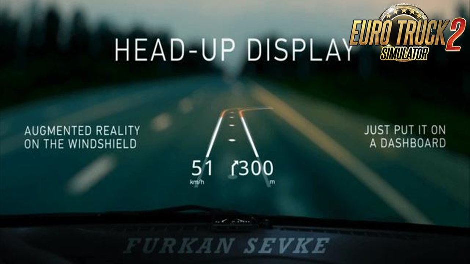Heads-Up Display for Ets2
