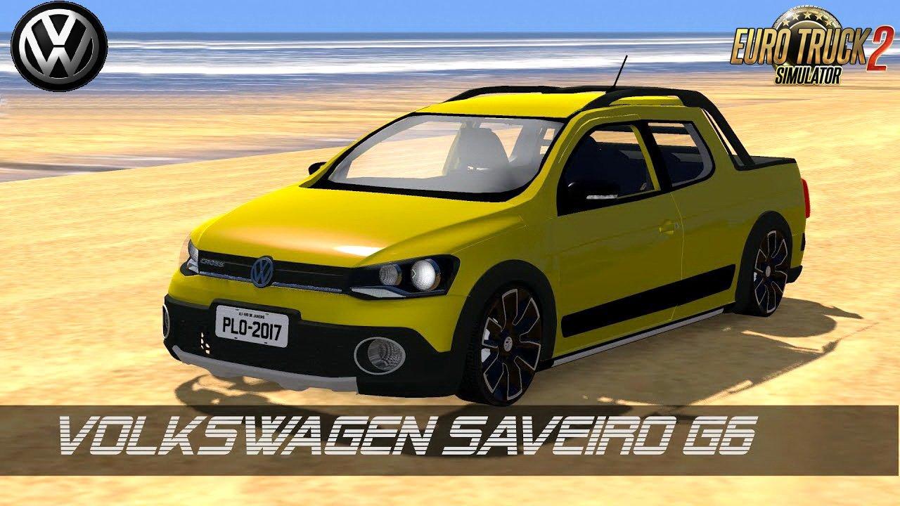 Volkswagen Saveiro G6 + Interior v1.0 (1.28.x)