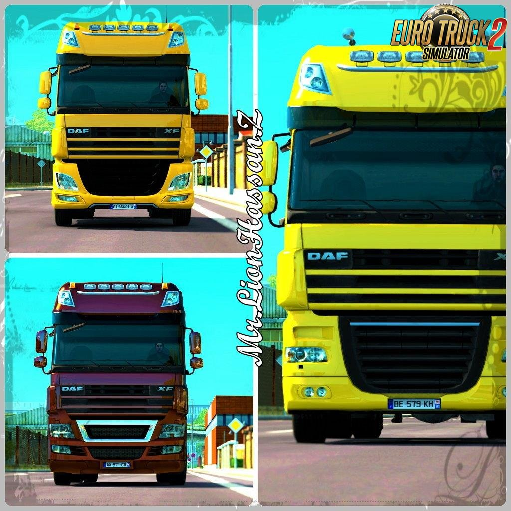 Mod Hybrid DAF with DLC DAF for Ets2 (MP)