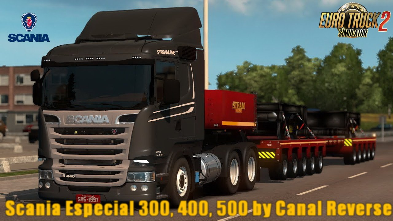 Scania Especial 300, 400, 500 v1.0 by Canal Reverse (1.28.x)