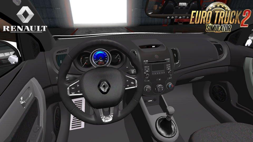 Renault Megane 4 Sedan + Interior v1.0 (1.28.x) » ETS2 ...