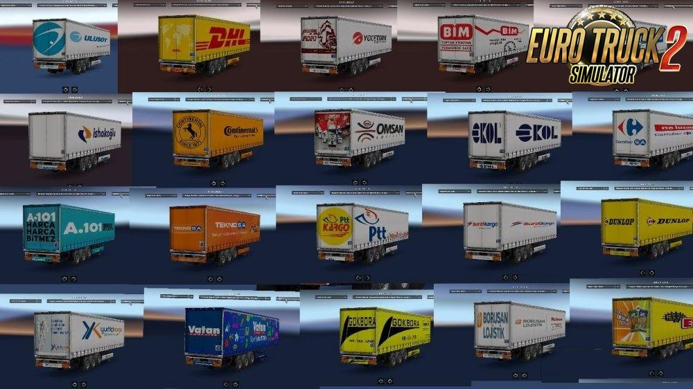 Trailer Pack v4.0 by Mucahit fatih