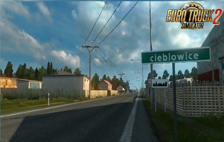 CIEBLOWICE (little village) by Dru Master