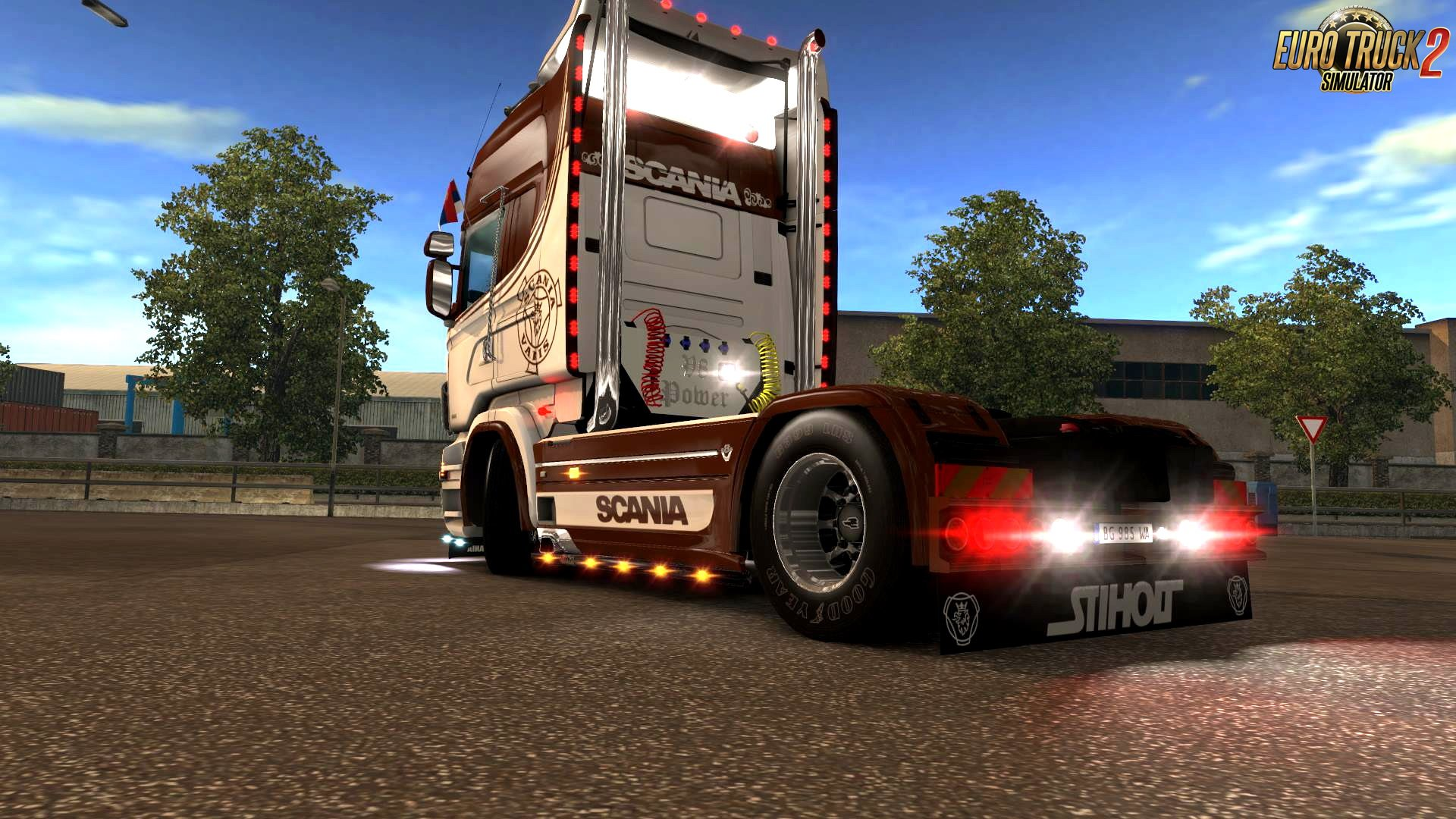 No Name Skin for Scania RJL v1.0 by FloppySRB (1.28.x)
