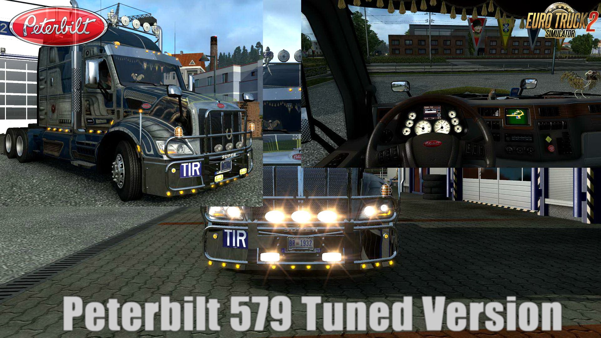 Peterbilt 579 Tuned Version v1.0 (1.28.x)