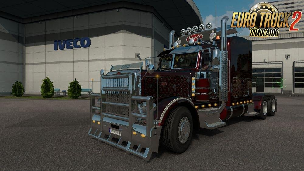 Peterbilt 389 Tuned for Ets2