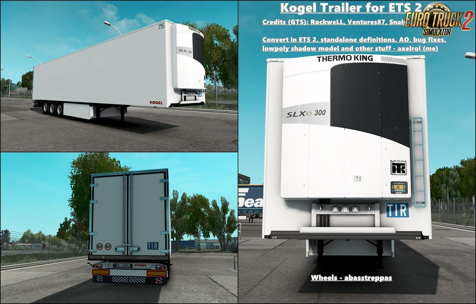 Trailer Kogel - Update v1.28.x