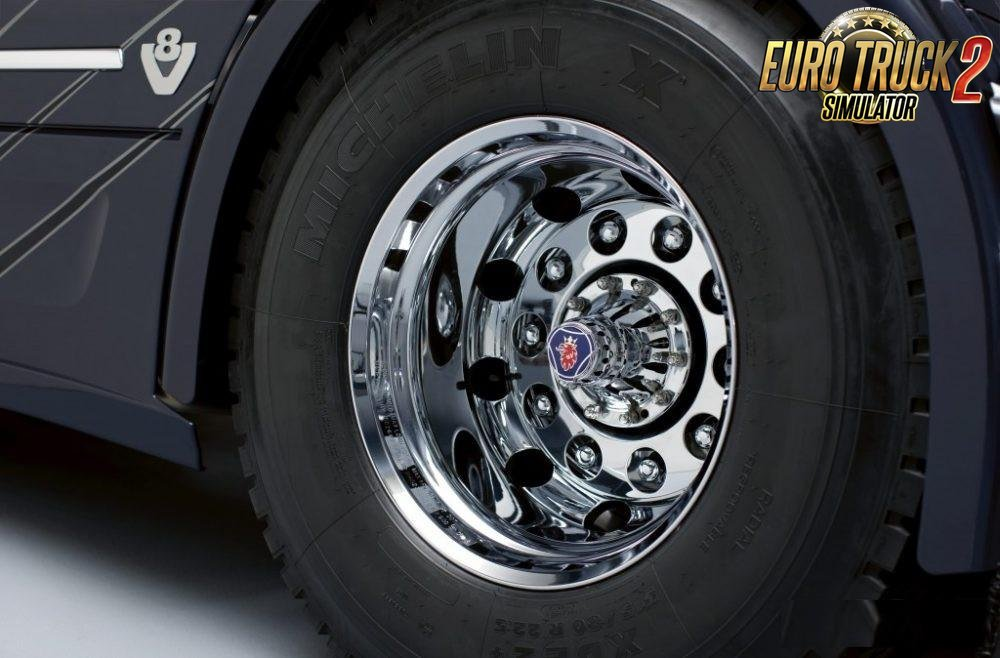 Exclusive Wheels and Tires for Ets2
