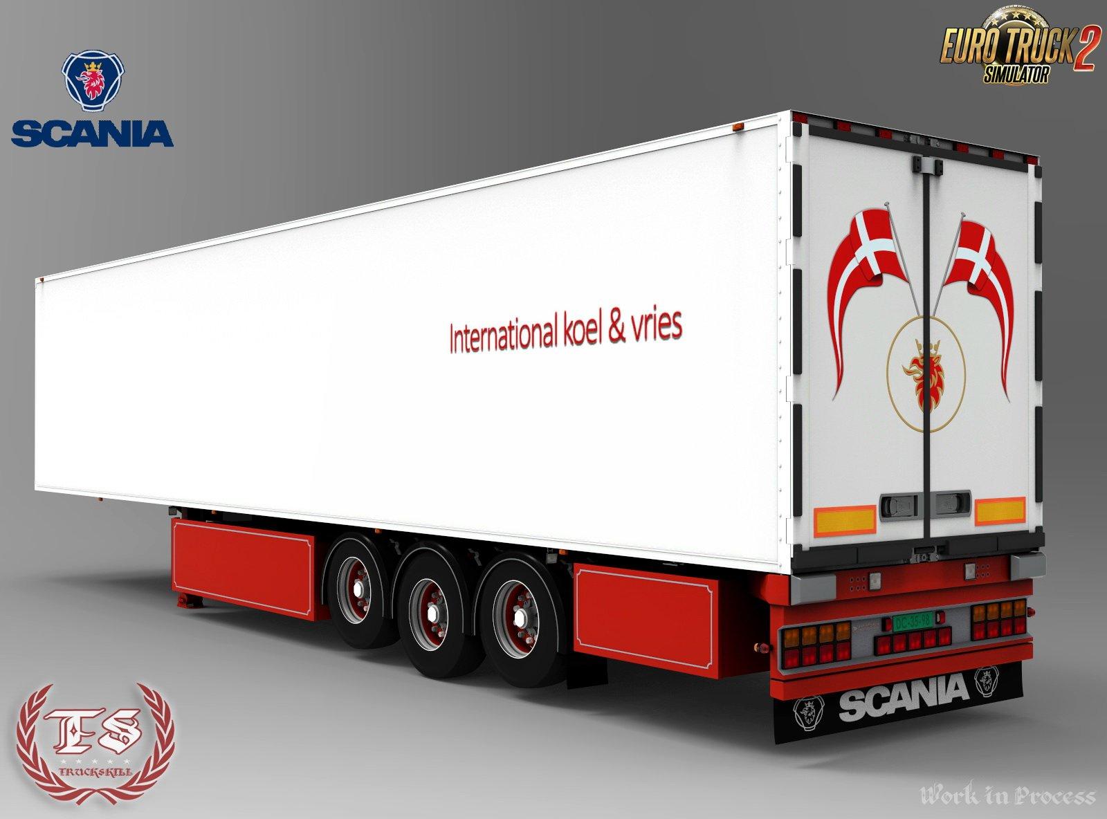Scania Jesper Hansen Edition + Trailer v1.0 (1.28.x)