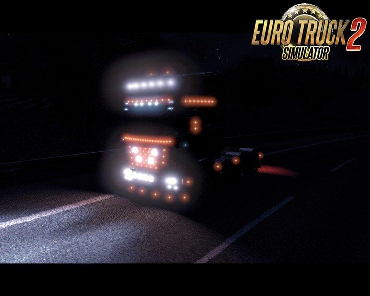 Scania Happy Lightning (Tuning Mod) v0.3 by Roadhunter (1.28.x)