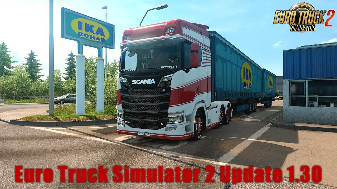 Euro Truck Simulator 2 Update 1.30 Open Beta released