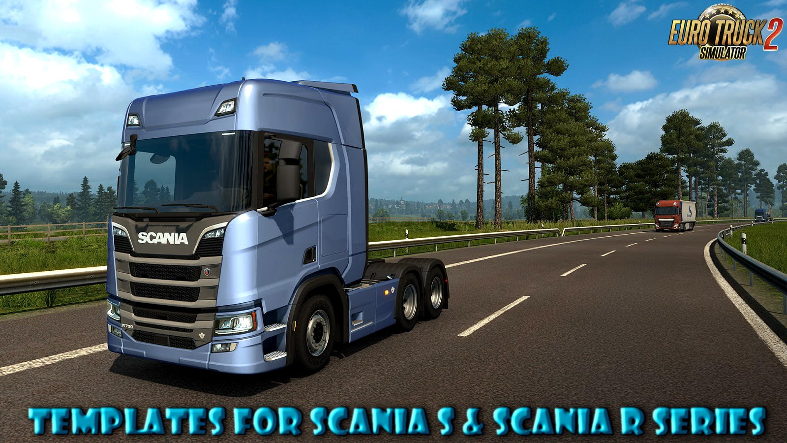 Templates for Scania S & Scania R series v1.0 by Zeeuk1 Modz (1.30.x)
