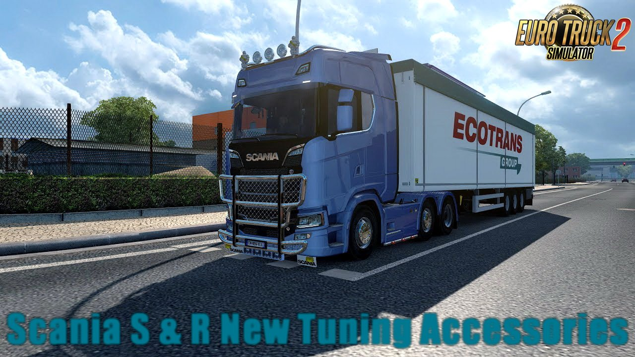 Scania S & R New Tuning Accessories v1.0 by KiLLeR Modding (1.30.x)