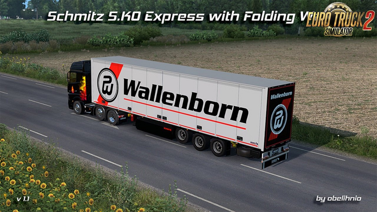 Schmitz S.KO EXPRESS with Folding Wall v1.1