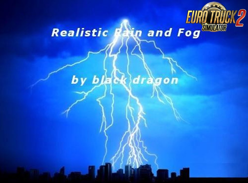 Realistic Rain and Thunder Mod [1.30]