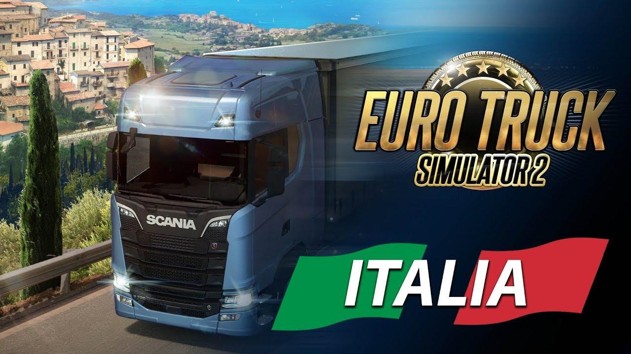 Euro Truck Simulator 2 - Italia DLC (1.30.x)
