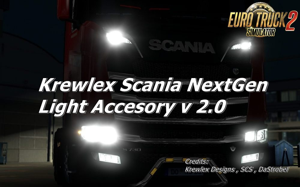 Krewlex Scania NextGen Light Accesory v2.0 [1.30]