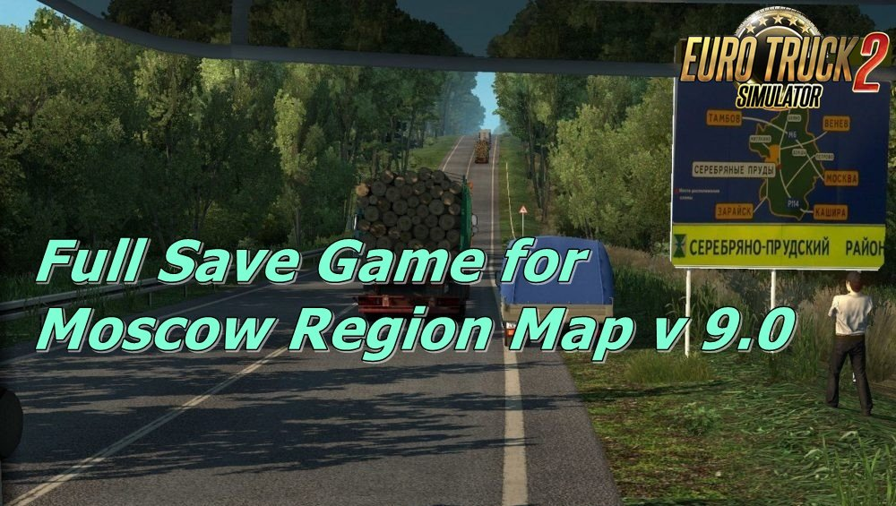 Full Save Game for Moscow Region Map v9.0