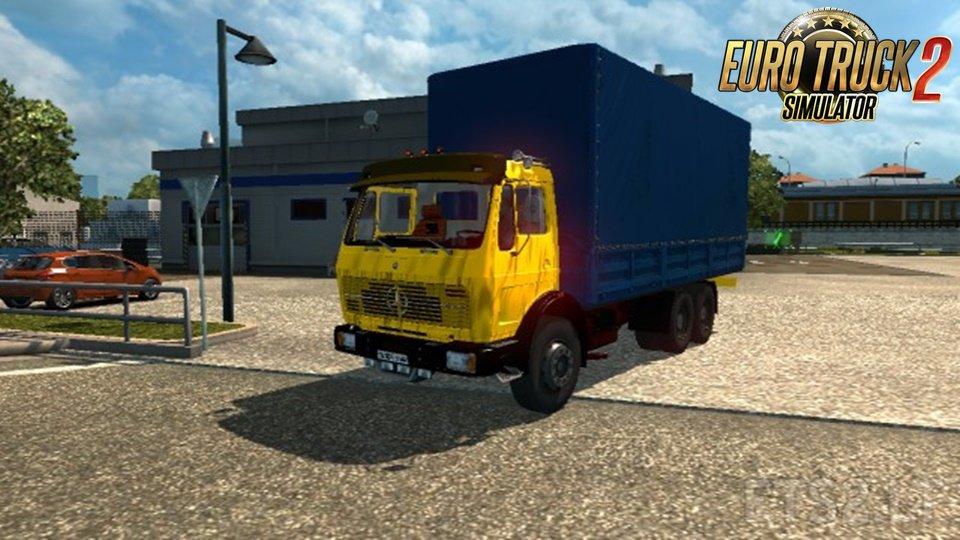 Mercedes benz old truck download ets 2 mods for Old mercedes benz trucks