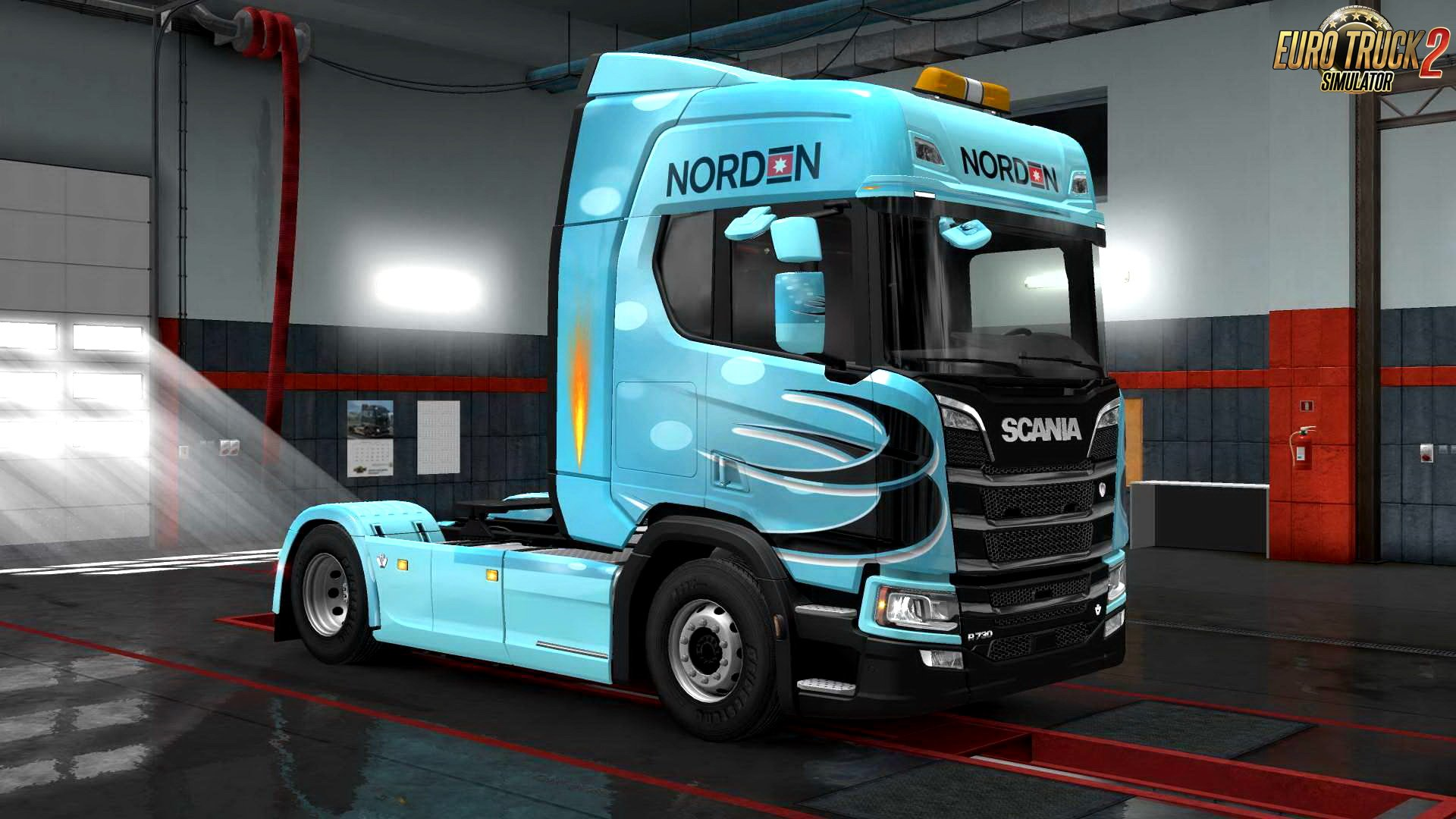 Norden skin for Scania Nex Gen R v1.0 by Cruise (1.30.x)