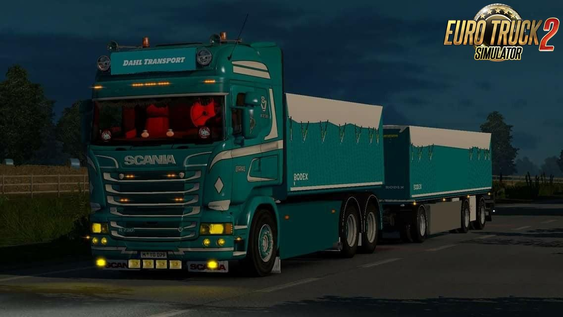 Container combo for Rjl Scania