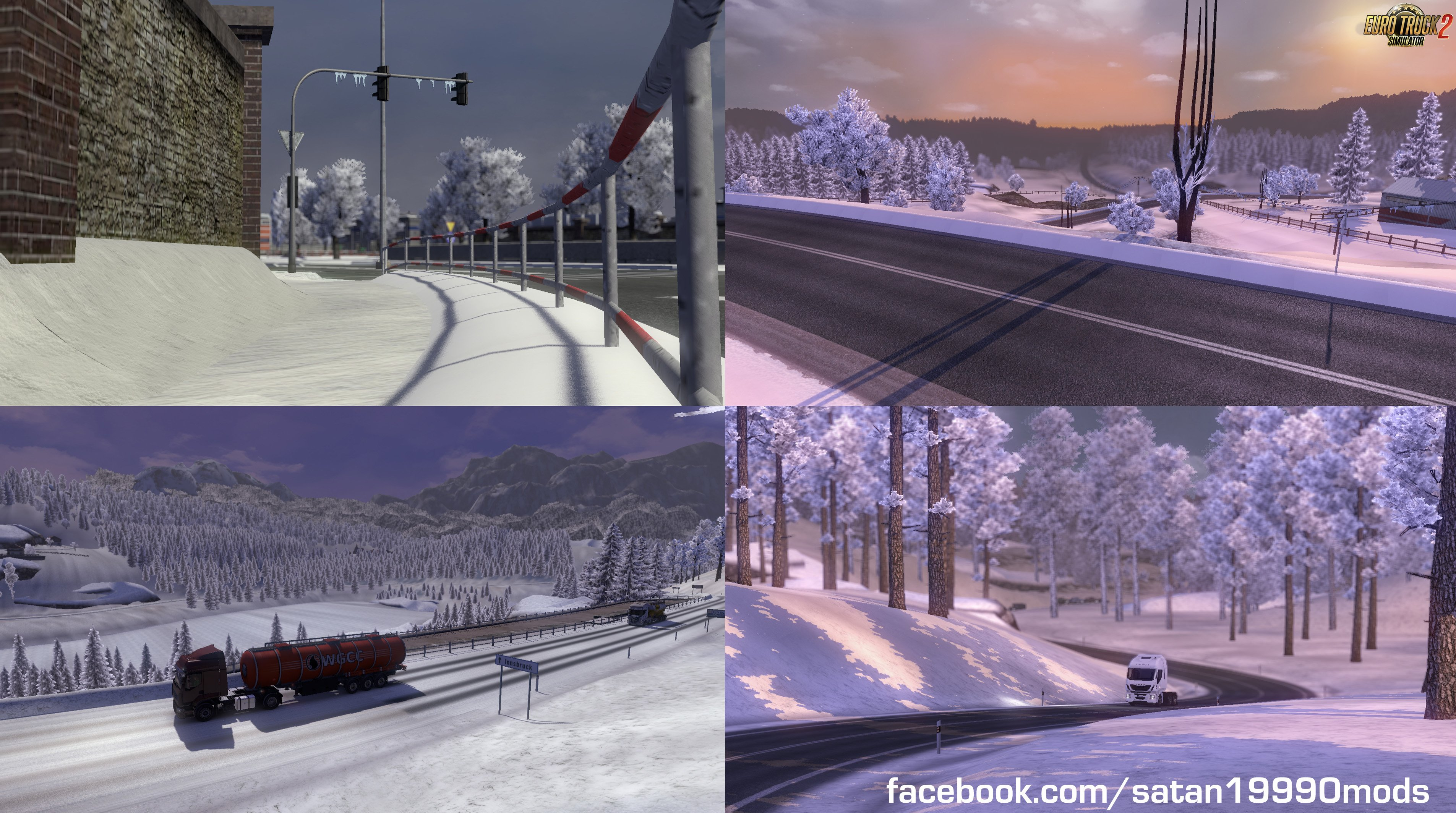 Complete Winter Mod v3.1.1 by satan19990 (1.30.x)