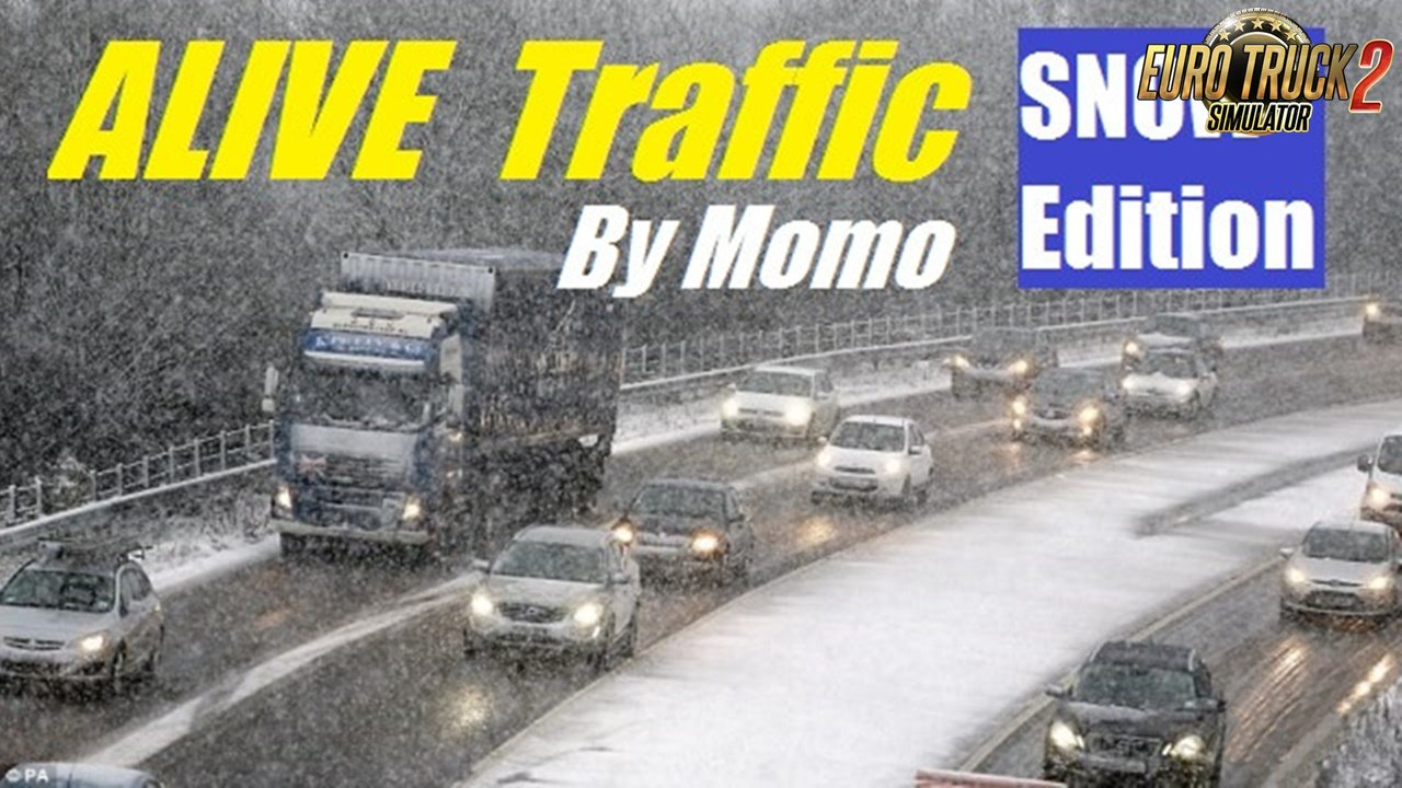 Alive Traffic 1.6.2 Snow Edition by Momo [1.30]