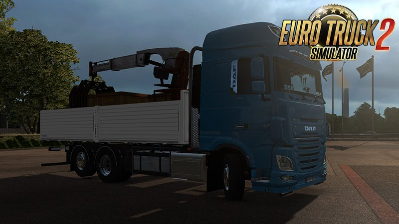 DAF XF 106 Rigid v1.0 by XBS [1.30.x]