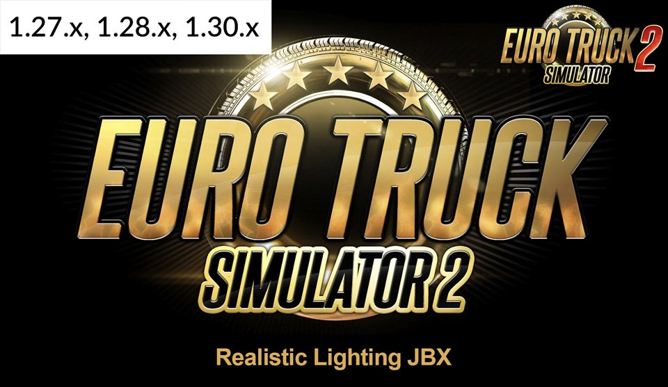 Realistic Lighting JBX for Ets2
