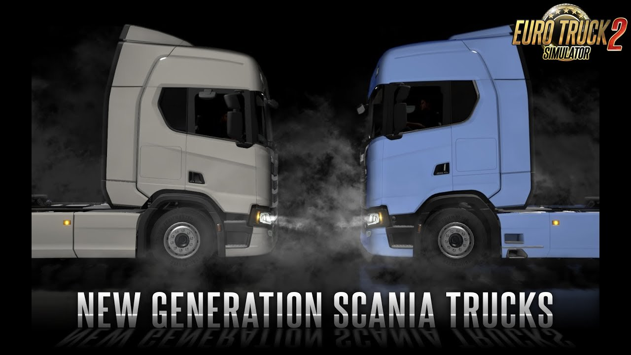 New Generation Scania Trucks by SCS Software - Euro Truck Simulator 2