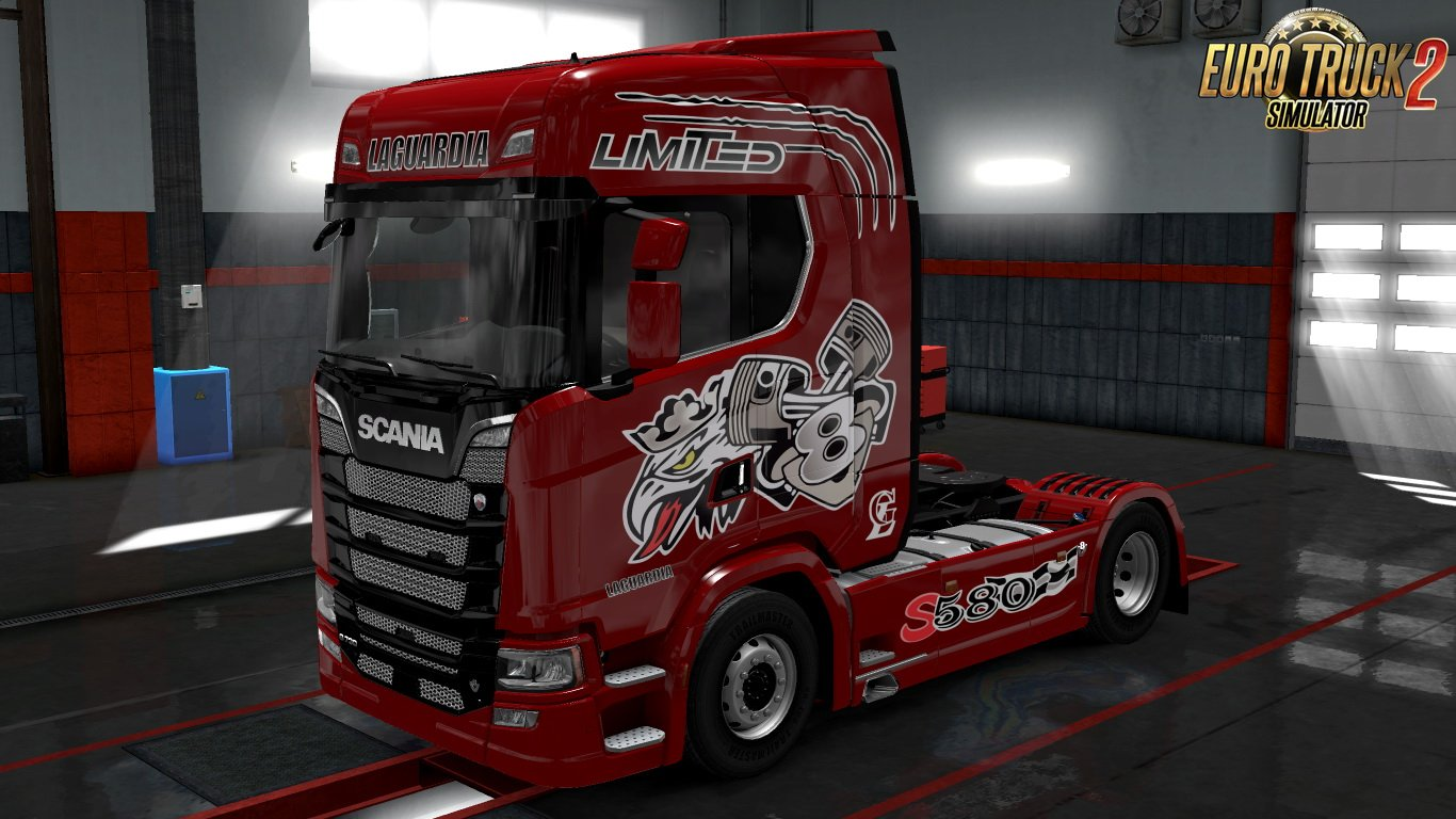 Laguardia Skin for Scania Next Gen S v1.0 by Revanik (1.30.x)