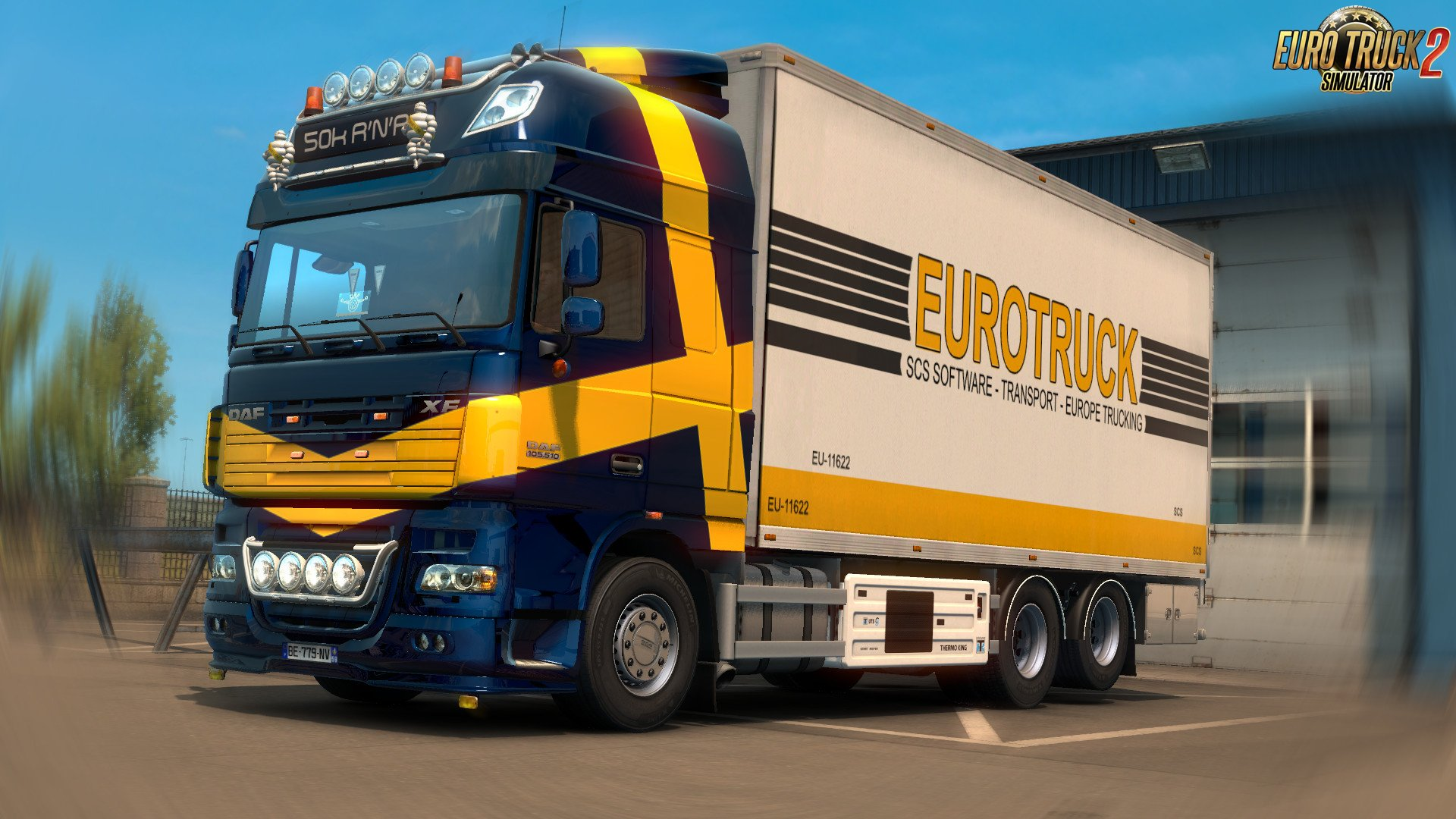 DAF XF by 50k v4.3 [1.35.x]