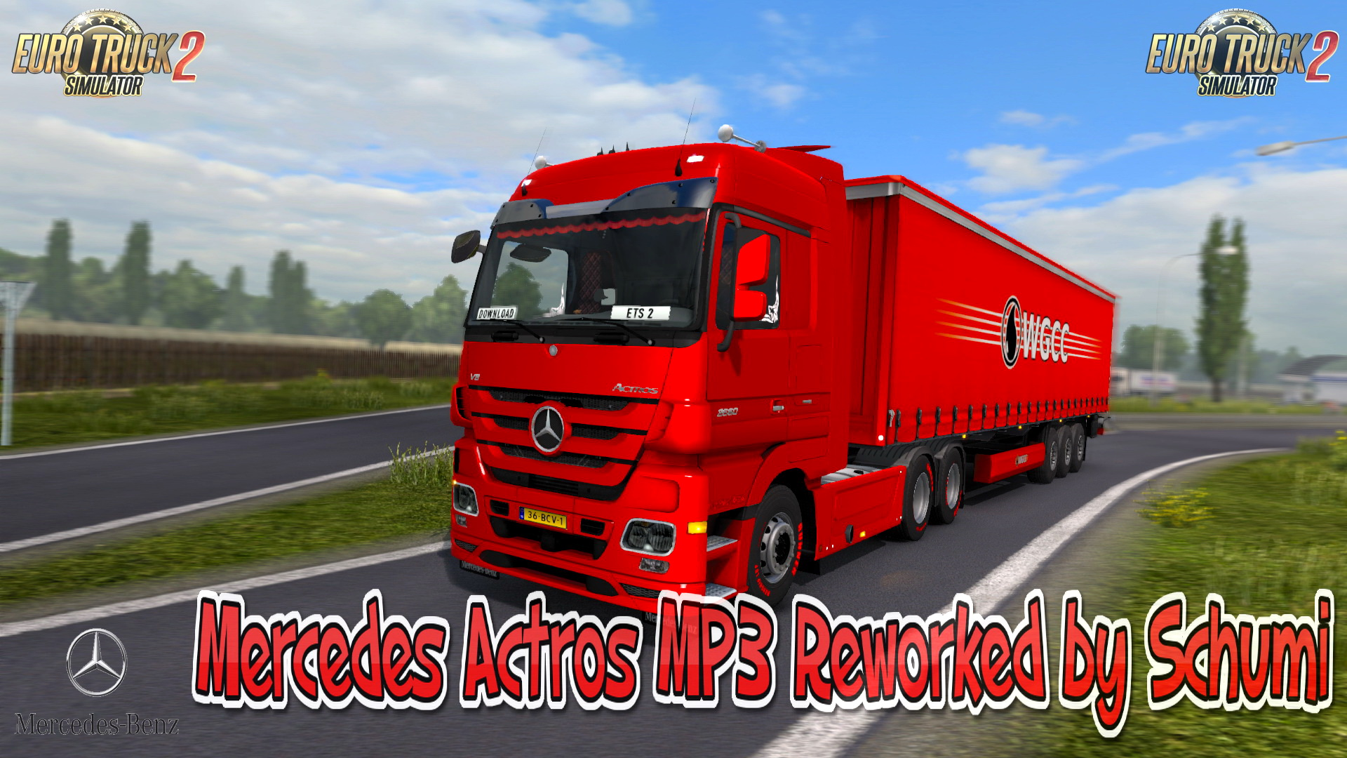 Mercedes Actros MP3 Reworked v2.0 by Schumi (1.30.x)
