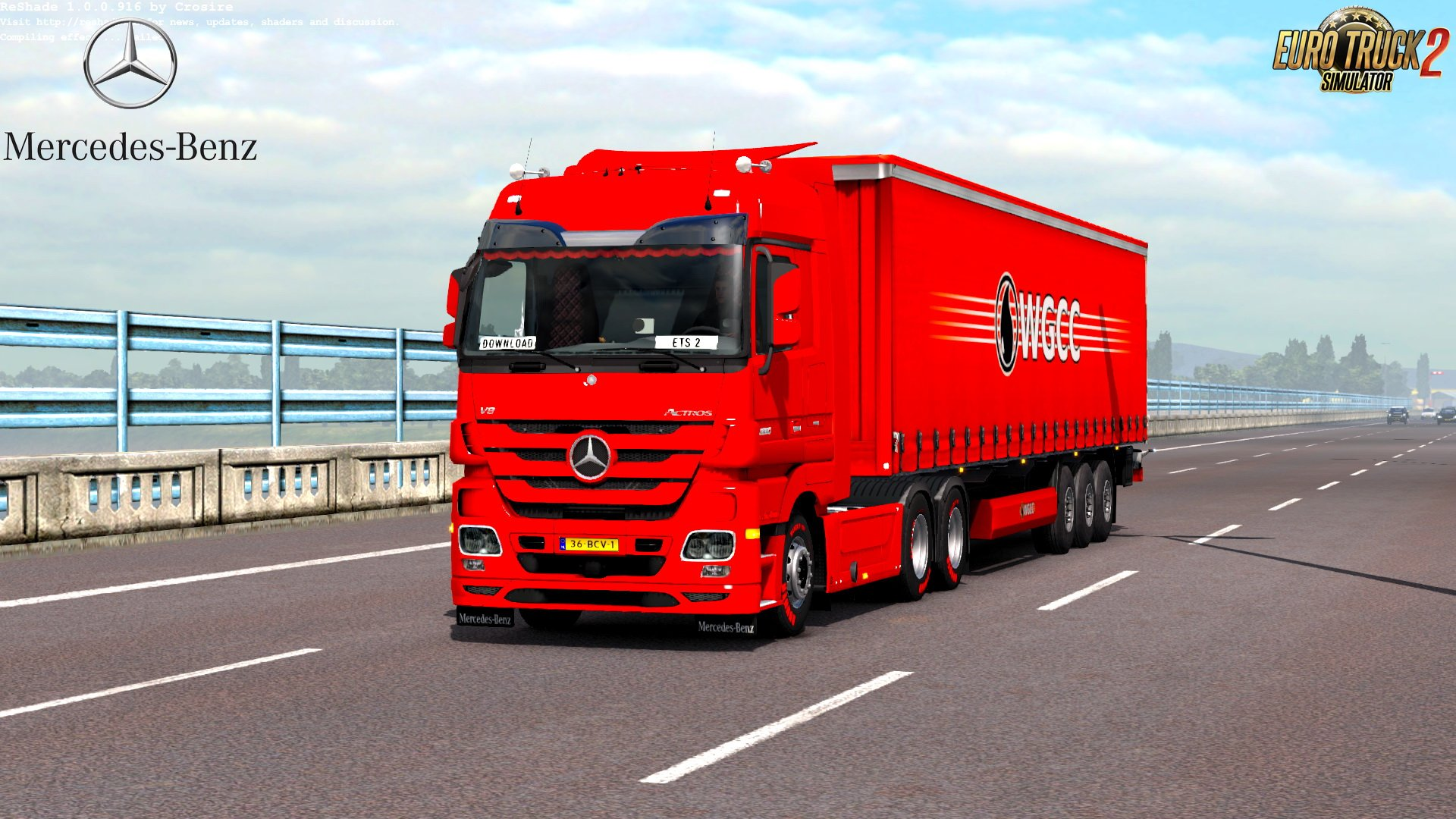 Mercedes Actros MP3 Reworked v1.7 by Schumi (1.30.x)