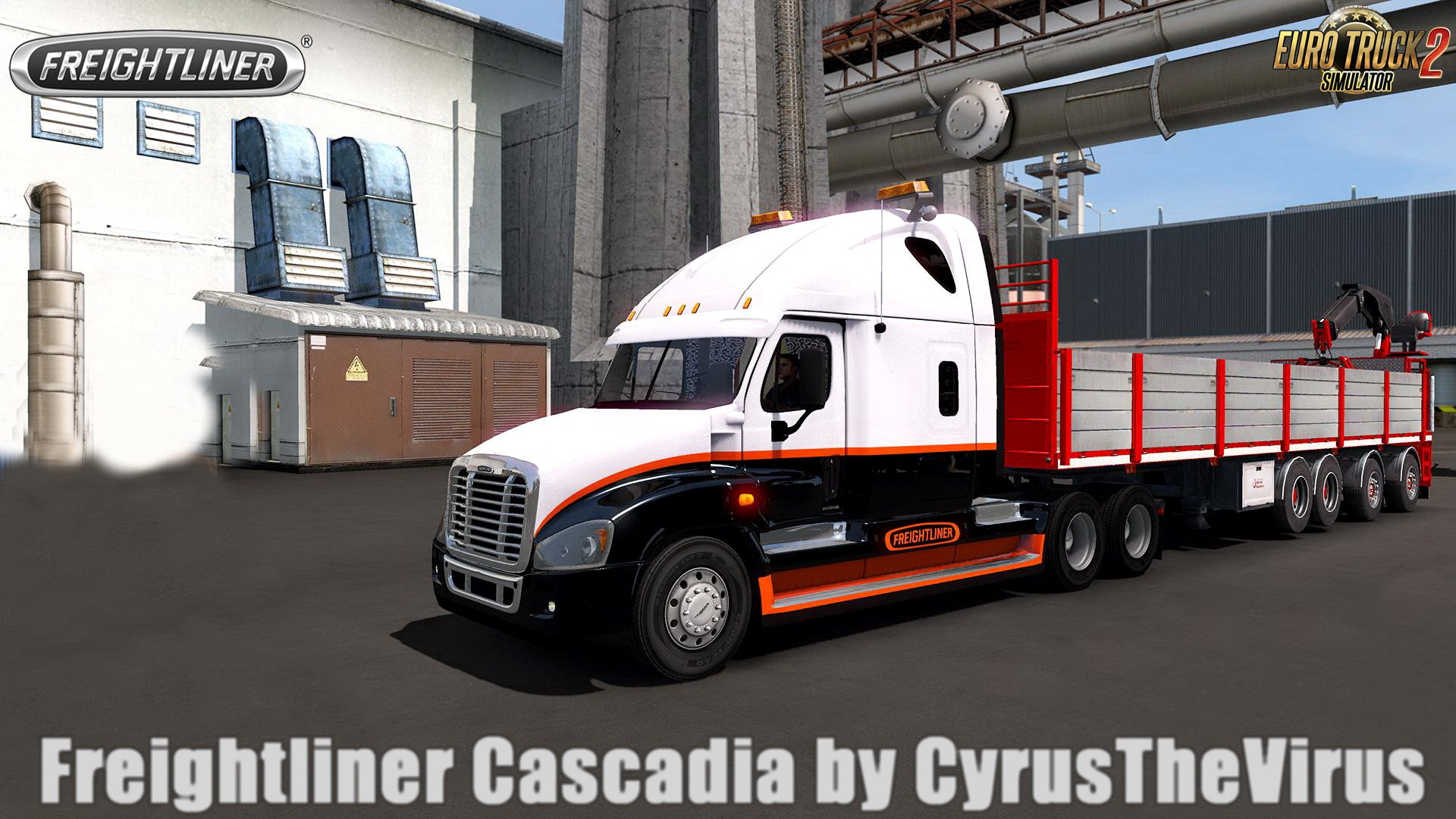 Freightliner Cascadia v1.0 by CyrusTheVirus (1.30.x)