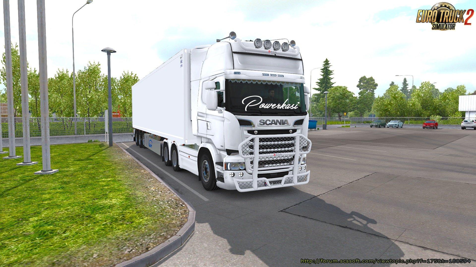Scania RS Addons v1 2 » ETS2 mods, SCS mods, Euro Truck