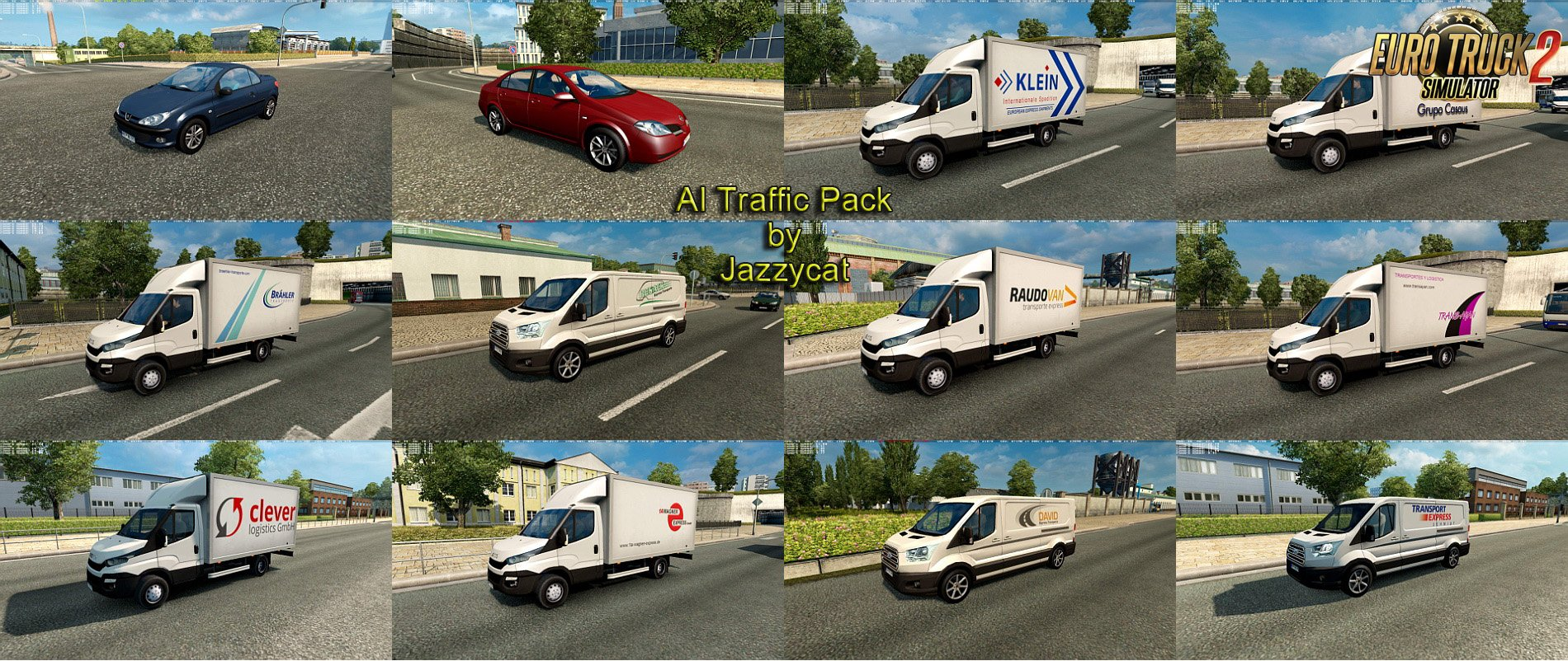 AI Traffic Pack v6.5 by Jazzycat