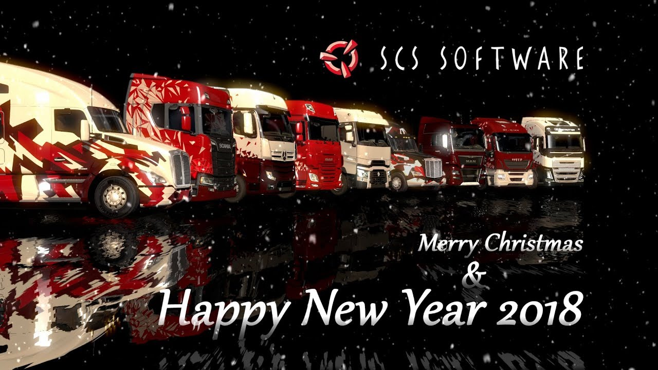 All the Best in 2018 from SCS Software
