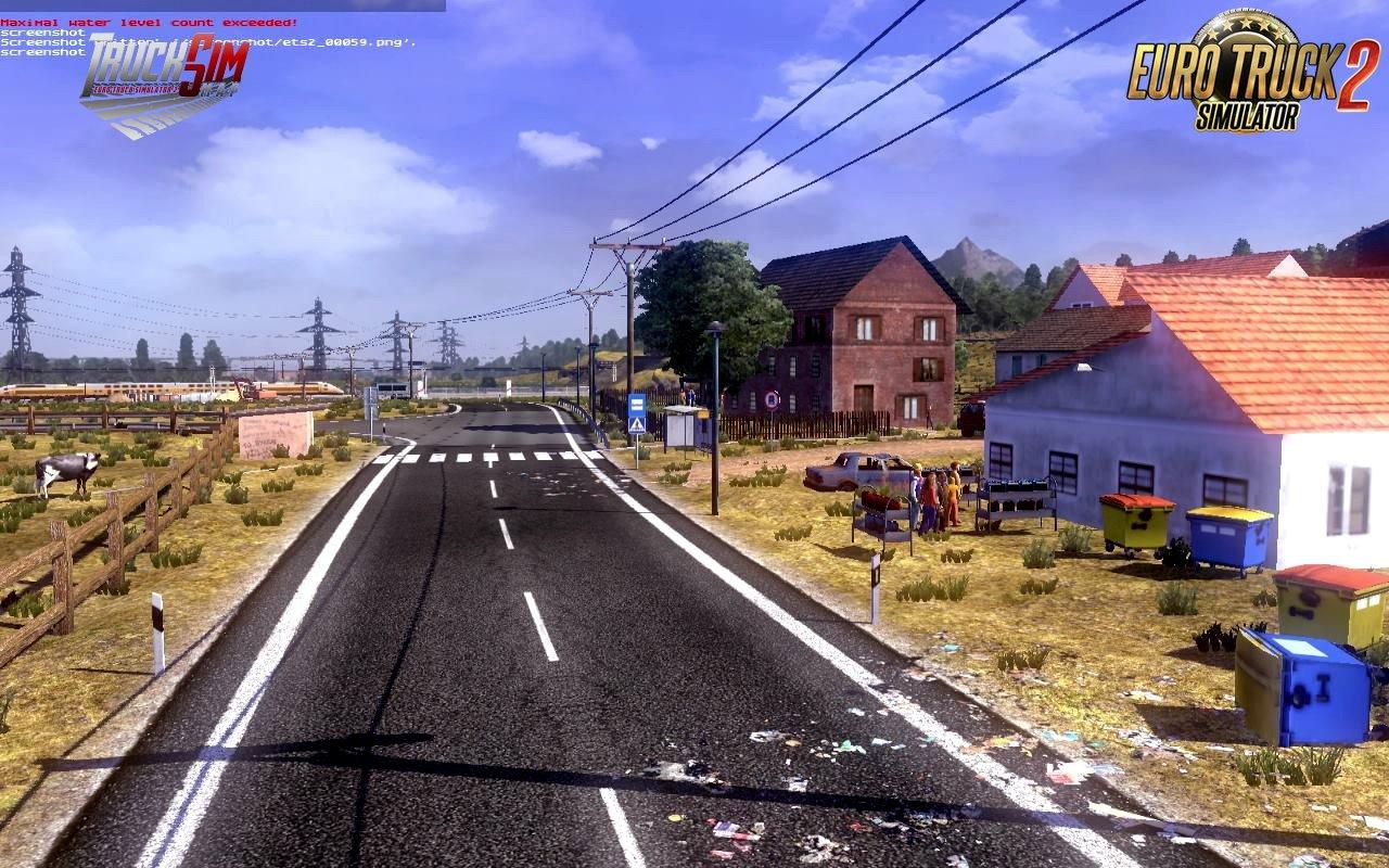 TruckSim - Map 1.34 for Ets2