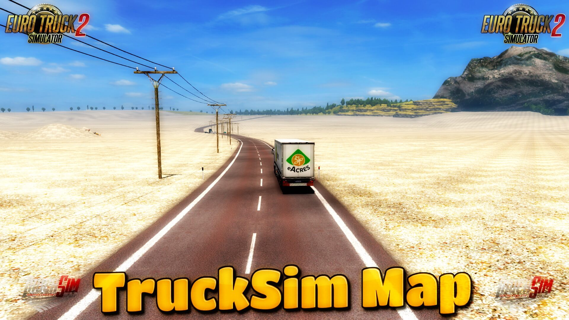 TruckSim Map v6.6.2 (1.30.x)