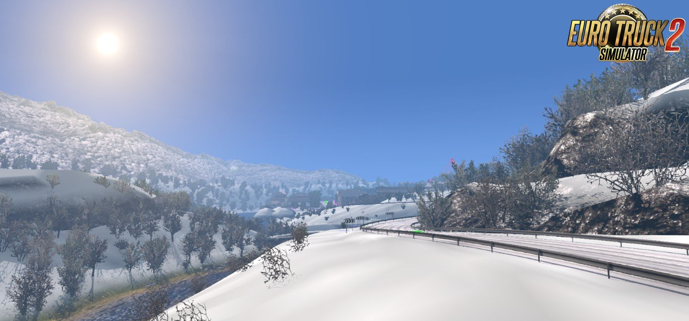 Winter Add-On for Realistic Graphics Mod v0.9.3 (1.30.x)