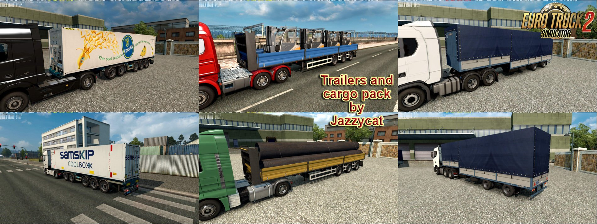 Trailers and Cargo Pack v6.1 by Jazzycat