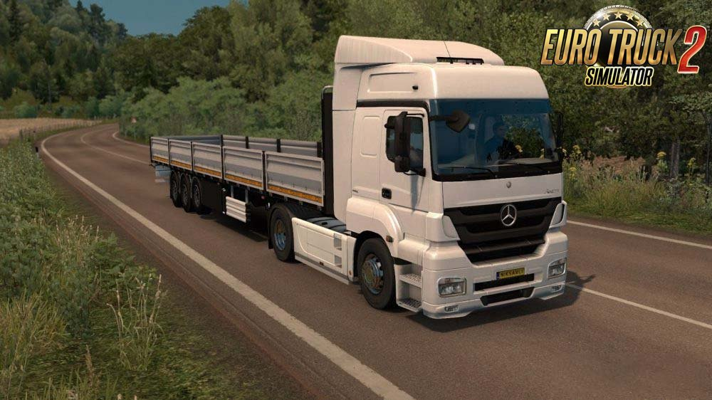 Mercedes Axor Truck 1.30s for Ets2