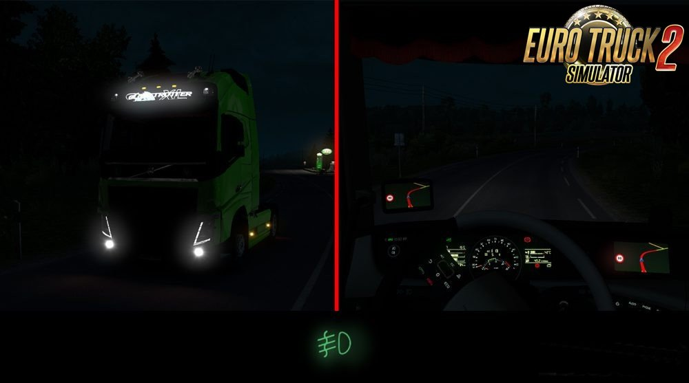 Real Light for all version in Ets2