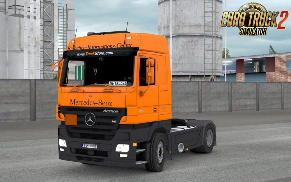 Mercedes Actros MPII v1.0 for Ets2