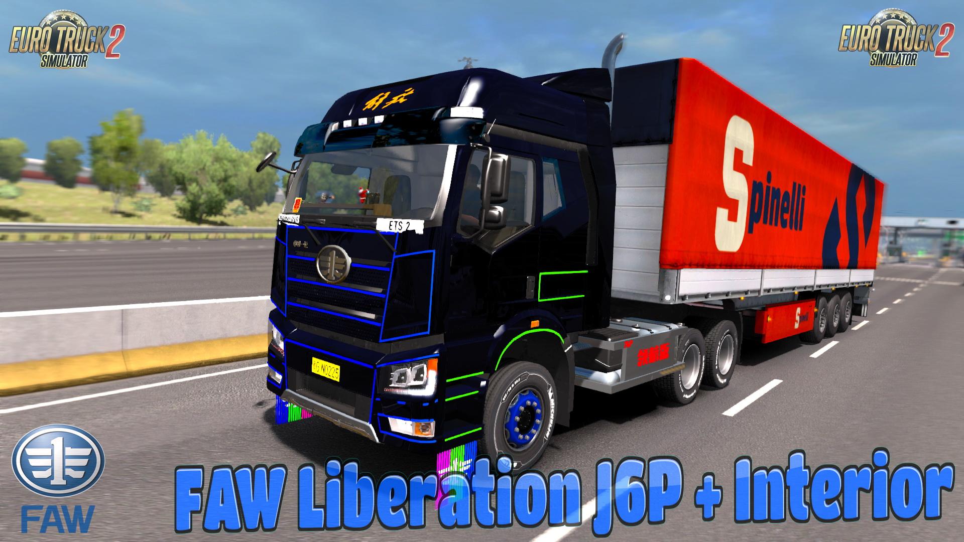 FAW Liberation J6P + Interior v1.0 (1.30.x)