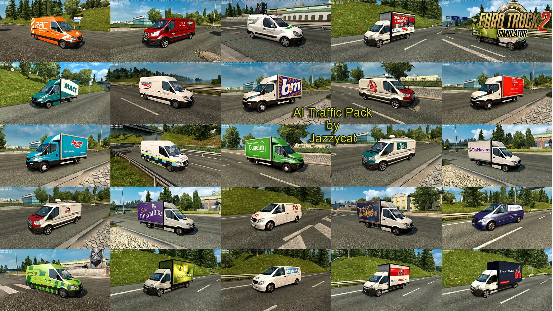 AI Traffic Pack v6.6 by Jazzycat
